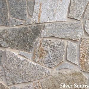 Real Stone Veneer Silver Sunrise